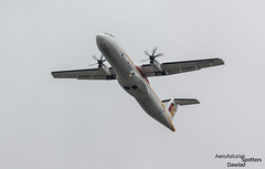 ATR 72 despegando de Madrid (Dawlad Ast) Tags: madrid espaa plane airplane airport spain day open aircraft air may internacional international mayo aeropuerto 72 regional avion iberia sn adolfo barajas suarez nostrum atr 2016 spotters 1041 lemd at72 turbohelice 72600 eclsq