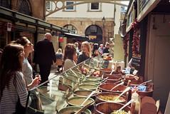 St Nicks Market (Walt Jabsco) Tags: film bristol market kodak olympus olympusxa2 stnicholasmarket kodakcolourplus