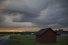 The rain is coming... (Madeleine Forsgren) Tags: cloud nikon d800 vrmland moln ovder madeleineforgren nnerud
