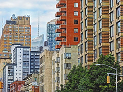 architectural variety (albyn.davis) Tags: nyc newyorkcity buildings architecture colors windows shapes geometry