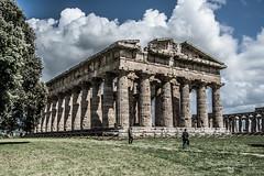 DSC_9098 (Dan Kistler) Tags: paestum italy velia greek ruins temples trains