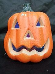 Pumpkin (stevensonmetal) Tags: color halloween pumpkin jackolantern decoration changing decor