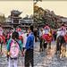 Naxi people parade 3D
