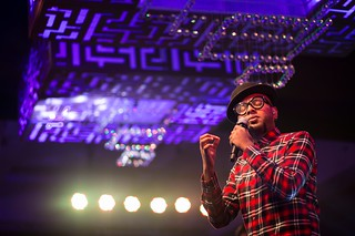 Benny Dayal at a cocktail night.