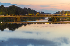 Firenze (aliffc3) Tags: italy reflections evening florence ponte tuscany firenze arnoriver