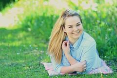 Brandi (Lena Waldron) Tags: portrait germany backyard sunny