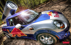 2014 BMW Mini Red Bull Car (www.yravaryphotoart.com) Tags: auto car automobile energy wideangle mini bmw redbull hdr redbullcar canonefs1022mmf3445usm canoneos7d yravary yravaryphotoart