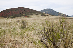Red Mountain Open Space (Tom Z Dixon) Tags: county red mountain rock table landscape colorado open space trail bent larimer