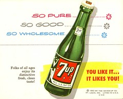 1953-7up (File Photo Digital Archive) Tags: vintage advertising 1950s 50s 53 7up 1953