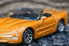 (jbeneventophotos) Tags: macro chevrolet chevy hotwheels corvette matchbox