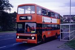 SBL AH17 F99JYS EK Greenhills 1995 (Rightgoodmotor) Tags: strathclyde buses sbl volvo citybus alexander rh glasgow bus scottish scotland ah17 f99jys