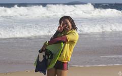 Itacoatiara Pro Bodyboarding - Ayaka Suziki (Marcos Fabrcio) Tags: niteri nature canon surfing riodejaneiro bodyboarding japo