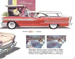 1958 Oldsmobile Super 88 Fiesta (Hugo-90) Tags: auto car station ads advertising wagon automobile fiesta super 1958 vehicle catalog 88 brochure olds oldsmobile