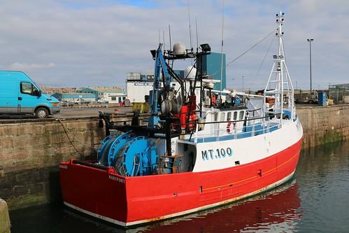 21st April 2016. Onward MT100 in Peterhead Harbour, Aberdeenshire, Scotland