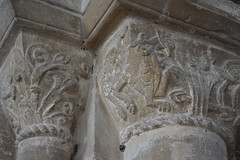 Stone Carving, St Kyneburgha's Church, Castor. (greentool2002) Tags:
