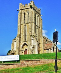 Holy Cross, Bury, Cambs (grassrootsgroundswell) Tags: church bury churchtower cambridgeshire englishparishchurch