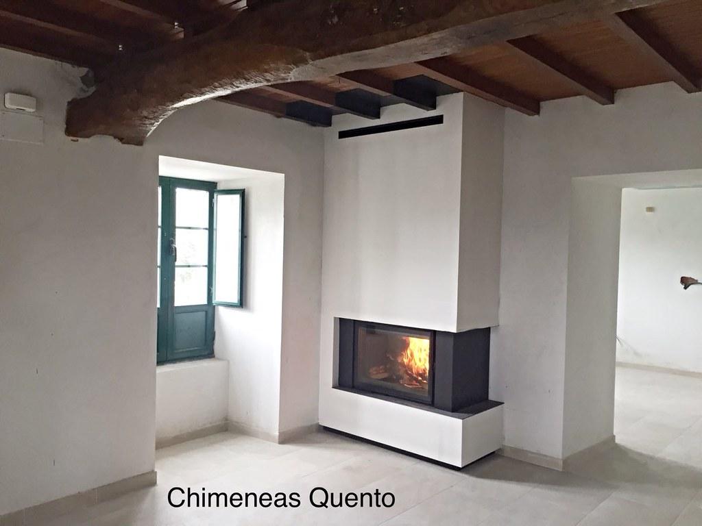 Modelo de lareiras inspirao decor lareiras modernas na - Chimeneas quento ...