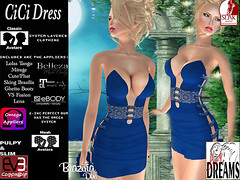 CiCi dress blue (mysticdreams0607) Tags: eve blue texture evening design outfit different dress lace formal sensual latest newest recent apparel physique maitreya slink casualsexy evemesh