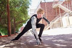 IMG_9976 (firecloak) Tags: male cosplay hero superhero cyborg opm akon genos onepunchman