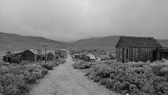 Main Street 2 (sidxms) Tags: not bodie ghost town goldrush abandoned statepark california samsung galaxy note 4 bnw bw monochrome blackandwhite