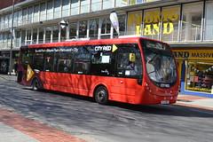 First Wright StreetLite 47690 SL15RWK - Southampton (dwb transport photos) Tags: bus first wright southampton streetlite cityred 47690 sl15rwk