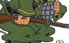 Se giri in Europa con un Fiorino pieno di Armi ti fermano solo in Ucraina (SatiraItalia) Tags: satira