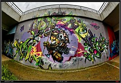 Artists: Sigma, Dizoe and CoreOner -  KDS Crew (pharoahsax) Tags: world street urban bw streetart get art colors wall writing germany painting deutschland graffiti artwork mural paint artist kunst tag sigma tags spray peinture urbanart painter writer graff baden karlsruhe ka core legal spraycan wrttemberg sden oner dizoe pmbvw coreoner worldgetcolors