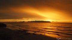 2016 - Landscape - Sunset - Largs - 02_24_03.jpg (stevenlazar) Tags: ocean sunset beach clouds waves jetty australia adelaide southaustralia largs 2016