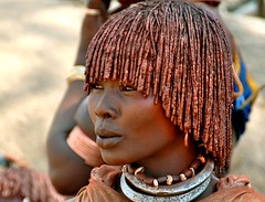 Ethiopia-Omo valley- Hamer tribe (venturidonatella) Tags: africa portrait people woman look persona women persone sguardo omovalley ethiopia tribe ritratti ritratto gentes hamer omo etiopia minorities etnia minoranza omorate hamertribe