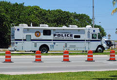 Fort Lauderdale Police Mobile Command Center (Infinity & Beyond Photography) Tags: mobile truck florida fort police center lauderdale vehicle command lawenforcement
