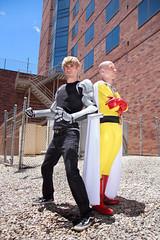 IMG_9987 (firecloak) Tags: male cosplay hero superhero cyborg opm akon genos onepunchman