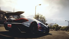 McLaren P1 (*Wall of text below) (polyneutron) Tags: motion car silver photography pc vinyl mclaren videogame needforspeed supercar rivals p1 racer nfs photomode
