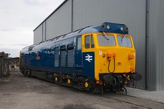 """50 035 """"Ark Royal"""" - Kidderminster (GreenHoover) Tags: svr severnvalleyrailway svrdiesel diesellocomotive diesel dieselloco dieselgala2016 kidderminster class50 hoover englishelectric 50035arkroyal 50035 arkroyal"""