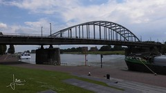 Arnhem (2016) - Brug over de Rijn (glanerbrug.info) Tags: wwii tweedewereldoorlog nederland 2016 rhein arnhem gelderlandgemeentearnhem rijn
