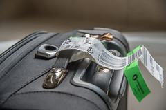 Back Home (Woodlands Photog) Tags: travel flying flight luggage