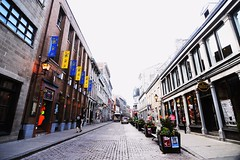 Old Montreal (vinnie saxon) Tags: road street old city nikon montreal wideangle cobblestone d600 nikoniste