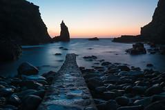Portcoon Jetty (Philip Blair's Photos) Tags: county ireland sunset sea irish coast nikon jetty north d750 giants nikkor northern causeway ulster antrim 1635f4 portcoon