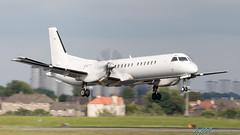 G-LGNS Saab 2000 Loganair (kw2p) Tags: aircraft airlineoperator airport aviation egpf egpfgla glgns glasgowairport loganair saab saab2000 cn2000041 paisley scotland unitedkingdom gb