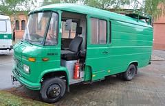 MB 608D (Vehicle Tim) Tags: truck mercedes police policecar mb polizei transporter policetruck einsatz polizeiwagen polizeifahrzeug