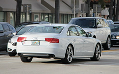 Audi S8 (D4) (RudeDude2140a) Tags: white sports car sedan exotic audi d4 s8