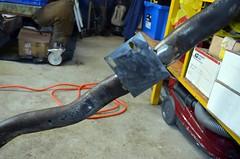 FabXmember04 (john.and.kath) Tags: chevrolet conversion welding engine swap impala ls transmission 1965 fabrication 60l jrd ls2 crossmember l76 4l65e