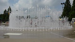 South Germantown Splash Park and Mini Golf (Montgomery Parks, MNCPPC) Tags: park summer water children fun jumping slide pillow splash