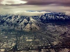 Salt Lake City (Brian Gonzalez 39 Photography) Tags: clouds city birdseyeview