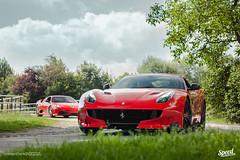 F12 tdf x 430 Scuderia (Stoove28) Tags: france de nikon tour rally ferrari rosso scuderia achterhoek 430 f12 tdf d40