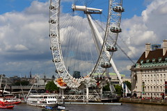 The London Eye (Rory Llowarch) Tags: city uk greatbritain travel summer vacation england sun holiday streets travelling london english tourism water sunshine skyline clouds walking photography photo holidays walks flickr photos unitedkingdom scenic cities streetphotography skylines sunny londoneye bluesky photographs rivers british summertime theriverthames blueskies weekends bigwheel riverthames vacations daytrips touristattractions centrallondon thelondoneye londonengland ldn thethames capitalcities scenicviews streetsoflondon theuk londonarchitecure vacation2016