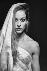 'Anesthesia' (dannyvdgriend) Tags: woman white black beauty model glamour pretty dress dramatic drama beautifull beautydish