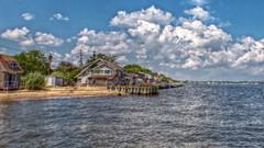 P1030067j (jmctuna) Tags: new york cloud house beach water lumix pier sand panasonic hdr bluepoint greatsouthbay jmctuna fz200