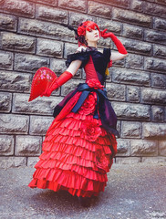 (Wilou Photography) Tags: red madame cosplay