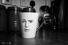 26/52 - Mugged! (Forty-9) Tags: selfportrait kitchen face june photoshop canon studio flash mug thursday efs1785mmf456isusm 52 mugged lightroom playonwords selfie 2016 week26 2652 strobist efslens strobism project52 forty9 yongnuo eos60d yongnuospeedliteyn560iv tomoskay 522016 project522016 30thjune2016