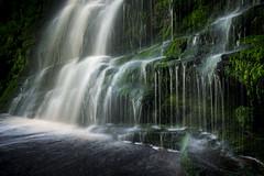 Falling, flowing, cascading and dripping (Keartona) Tags: waterfall woodhead derbyshire england abstract closeup water flowing slowshutter blur green cascade rock landscape moss wet dripping